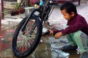Велосипедда ишга борадиган бўлдим...